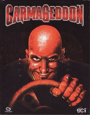 Carmageddon - European cover art