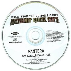 Cat Scratch Fever (song) - Image: Cat Scratch Fever Pantera