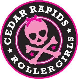 Cedar Rapids RollerGirls - Image: Cedar Rapids Roller Girls logo