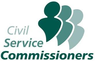 First Civil Service Commissioner - Image: Civ serv comm