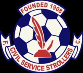 Civil Service Strollers F.C. - Image: Civil Service Strollers FC logo