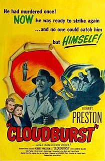 <i>Cloudburst</i> (1951 film) 1951 film by Francis Searle