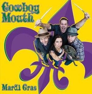 Mardi Gras (EP) - Image: Cowboy Mouth Mardi Gras