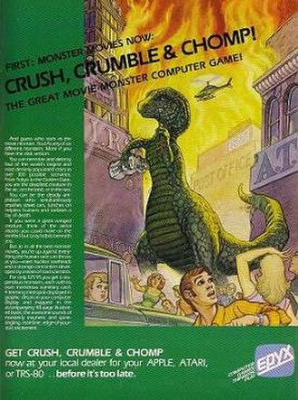 Crush, Crumble and Chomp! - Magazine ad