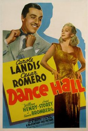 Dance Hall (1941 film) - Theatrical release poster