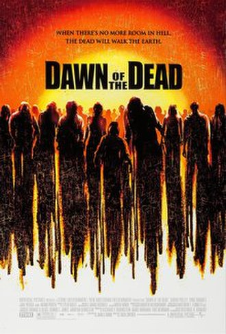 Dawn of the Dead (2004 film) - Promotional poster, still under the original release date