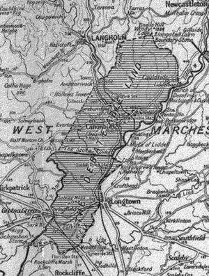 Scots' Dike - The Debatable lands and the Scots' Dike