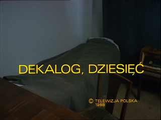 <i>Dekalog: Ten</i> 1989 film from cycle directed by Krzysztof Kieślowski