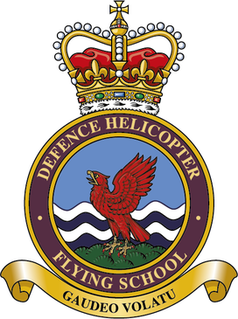 Defence Helicopter Flying School British military flying school