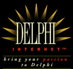 Delphi (online service) - Delphi logo from 1997