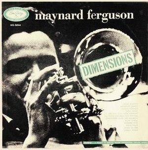 Dimensions (Maynard Ferguson album) - Image: Dimensions (Maynard Ferguson album)