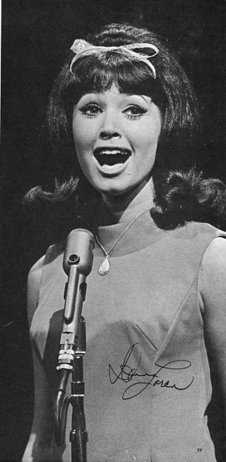 Dr Pepper - Donna Loren (seen here performing on ABC-TV's Shindig!) was the Dr Pepper Girl from 1963 to 1968.