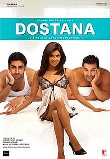 <i>Dostana</i> (2008 film) 2008 film by Tarun Mansukhani
