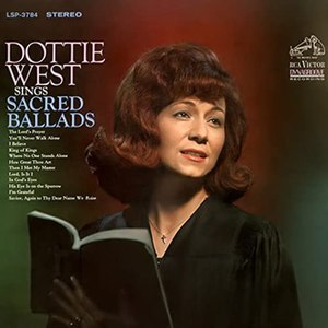 Dottie West Sings Sacred Ballads - Image: Dottie West Sacred Ballads