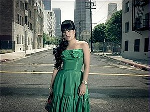 Drivin' Me Wild - Lily Allen in the official music video.