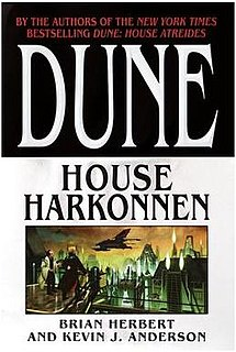 <i>Dune: House Harkonnen</i> novel by Kevin J. Anderson