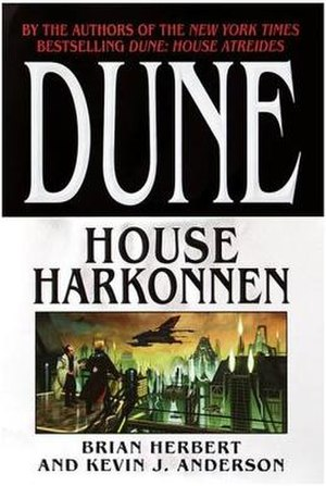 Dune: House Harkonnen - First edition cover