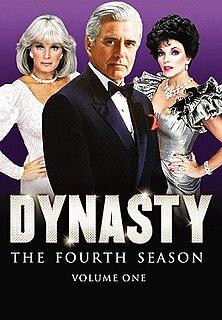 <i>Dynasty</i> (1981 TV series, season 4) Season of television series
