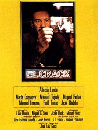 El Crack (1981 film) - Theatrical release poster