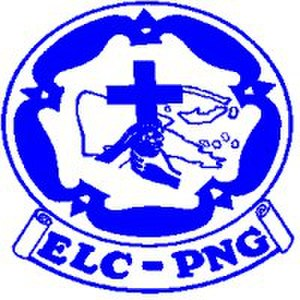 Evangelical Lutheran Church of Papua New Guinea - Official logo of the Evangelical Lutheran Church of Papua New Guinea.