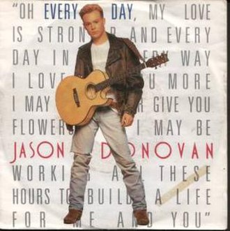 Jason Donovan - Every Day (I Love You More) (studio acapella)
