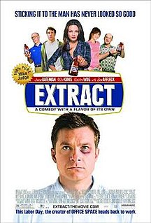 <i>Extract</i> (film) 2009 film by Mike Judge