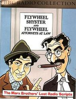 Flywheel, Shyster, and Flywheel - The first series of the 1990 BBC remake was released on audio cassette in 1991.