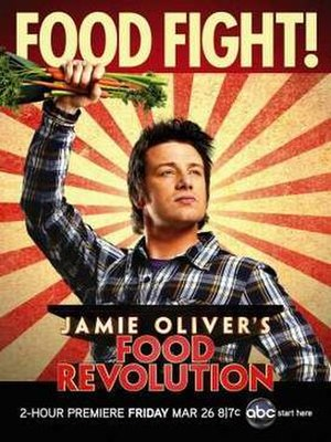 Jamie Oliver's Food Revolution - Promotional poster