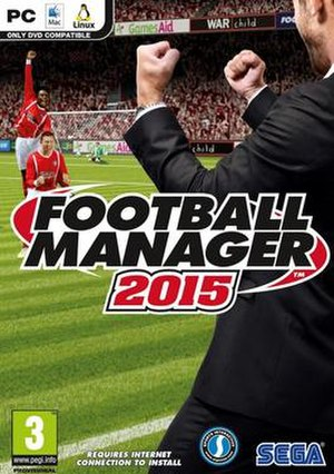 Football Manager 2015 - Official box art