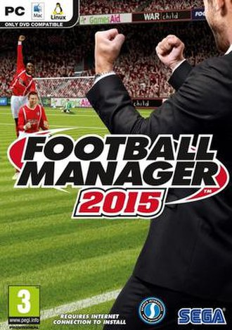 Football Manager 2015 - Official box art