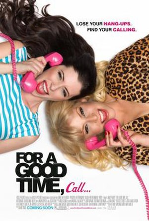 For a Good Time, Call... - Theatrical release poster