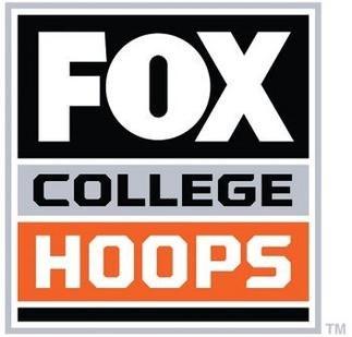 Fox College Hoops TV program logo