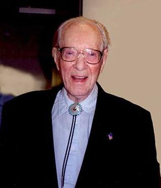 Fred Lawrence Whipple - Fred Lawrence Whipple aged 95