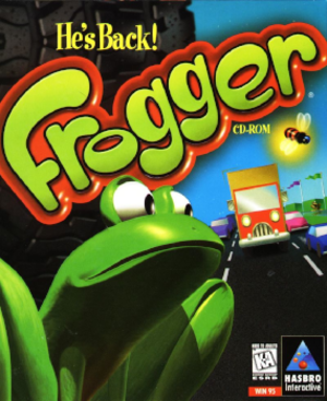 Frogger (1997 video game) - Image: Froggercover