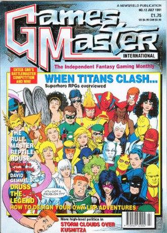 GamesMaster International - GMI № 12, July 1991
