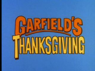 <i>Garfields Thanksgiving</i> 1989 film