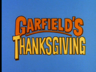 Garfield's Thanksgiving - The Title