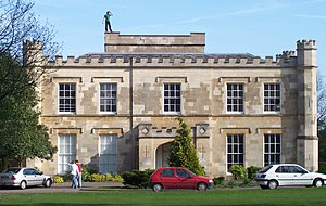 Wheatley Park School - Regency (or Georgian) manor house.