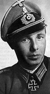 Gerhard Boldt Recipient of the Knights Cross