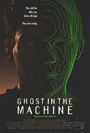 Ghost in the Machine (film) - Theatrical release poster