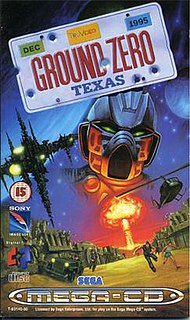 <i>Ground Zero: Texas</i> 1993 shoot em up video game