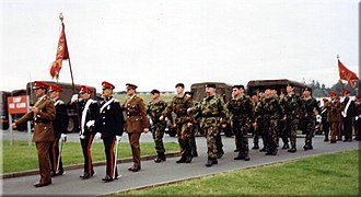 Leicestershire and Derbyshire Yeomanry - B (Leicestershire and Derbyshire Yeomanry) Squadron, The Royal Yeomanry in 1993