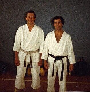Dave Hazard British karateka