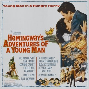 Hemingway's Adventures of a Young Man - Theatrical release poster