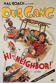 <i>Hi-Neighbor!</i> 1934 Our Gang short comedy film directed by Gus Meins