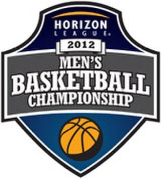 2012 Horizon League Men's Basketball Tournament - Image: Horizon League 2012 Mens Basketball tournament logo