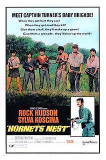 <i>Hornets Nest</i> 1970 film by Franco Cirino, Phil Karlson