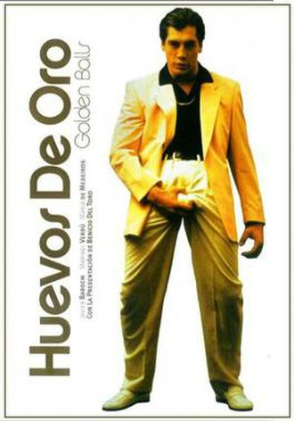 Golden Balls (film) - DVD cover for Huevos de oro