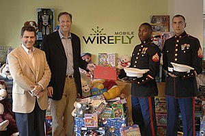 Toys for Tots - InPhonic's CEO and CFO present the results of the company's drive in December 2006