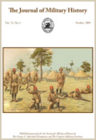 The Journal of Military History - Image: J Mil Hist